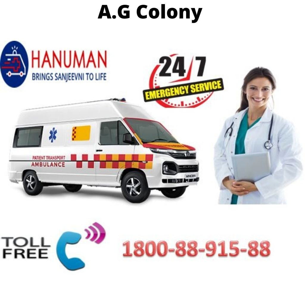 Ambulance Service in A.G Colony