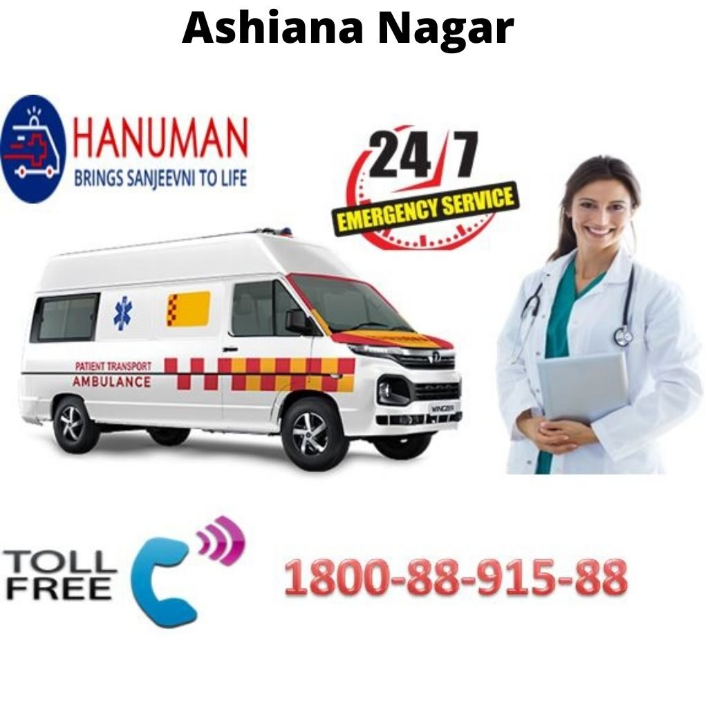 Ambulance Service in Ashiana Nagar
